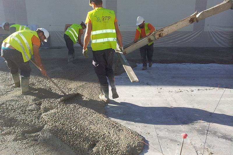 Vialca Hormigones - Pavimentos industriales