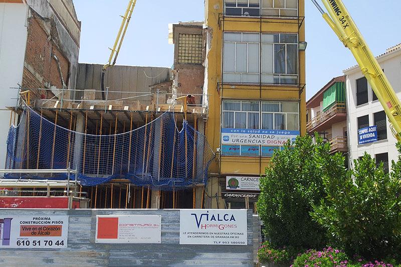 Vialca Hormigones - Obras