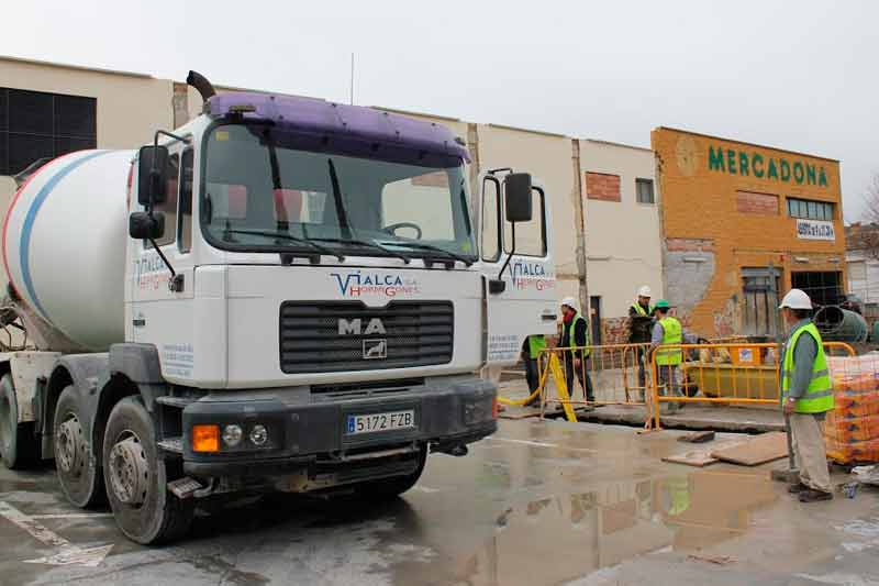 Vialca Hormigones - hormigón en obra