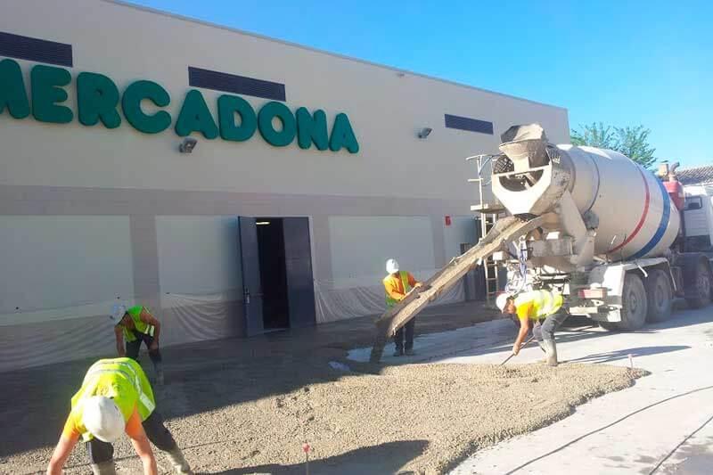 Vialca Hormigones - hormigón en pavimentación industrial