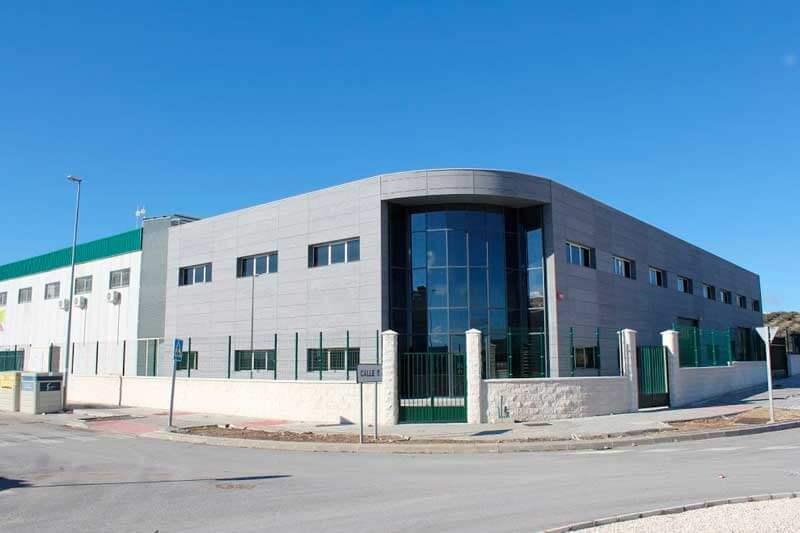 Vialca - Vivero de empresas Fase I (P.I. Llano Mazuelos), Alcalá La Real